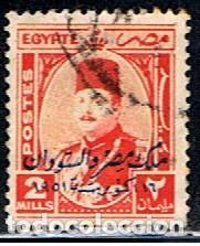 EGIPTO // YVERT 289 // 1952 ... USADO (Sellos - Extranjero - África - Egipto)