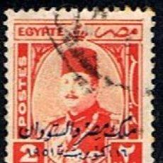 Francobolli: EGIPTO // YVERT 289 // 1952 ... USADO. Lote 231529870