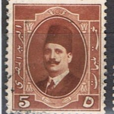 Francobolli: EGIPTO // YVERT 86 // 1923-24 ... USADO. Lote 231530485
