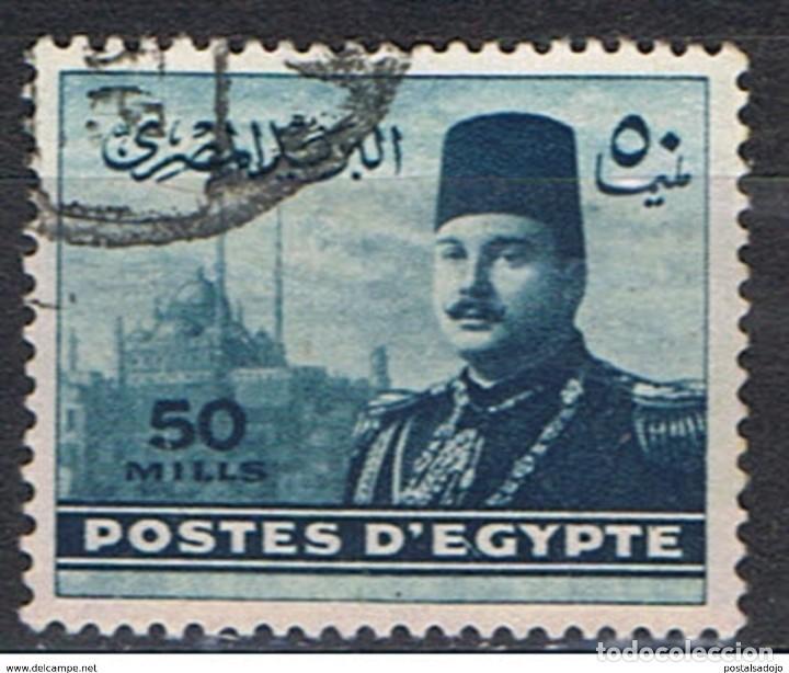 EGIPTO // YVERT 258 // 1947-48 ... USADO (Sellos - Extranjero - África - Egipto)