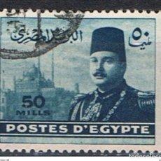 Francobolli: EGIPTO // YVERT 258 // 1947-48 ... USADO. Lote 231531475