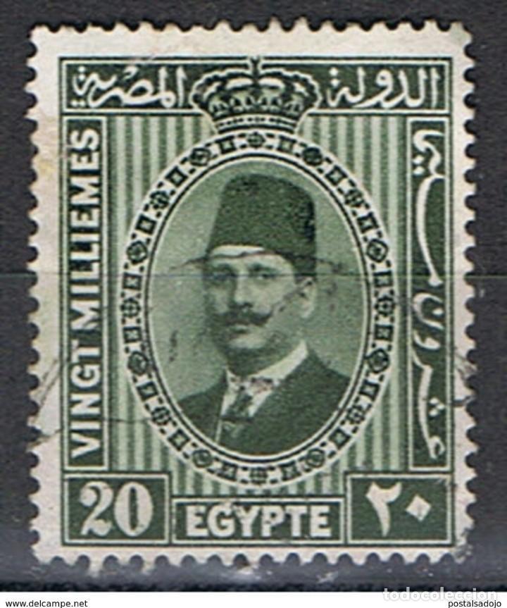 EGIPTO // YVERT 125 // 1927-32 ... USADO (Sellos - Extranjero - África - Egipto)