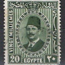 Francobolli: EGIPTO // YVERT 125 // 1927-32 ... USADO. Lote 231531975