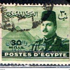 Timbres: EGIPTO // YVERT 256 // 1947-48 ... USADO. Lote 237368215
