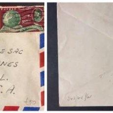 Sellos: O) 1950 EGIPTO, REY FAROUK - FUNDACIÓN DE LA UNIVERSIDAD FUAD I, KHEDIVE ISMAIL PASHA, ROYAL GEOGRAP. Lote 243194945