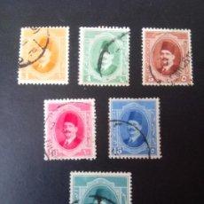 Timbres: EGIPTO 1923, REINO, REY FOUAD I, YT 82,85/8,90. Lote 246066305