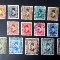 Timbres: EGIPTO 1927, REY FOUAD I, YT 118/27. Lote 246066800
