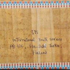 Sellos: O) 1997 EGIPTO, FARAÓN DINASTIA XVIII THUTMOSE III, A FINLANDIA. Lote 254112280
