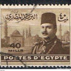Sellos: EGIPTO // YVERT 257 // 1947-48 ... USADO. Lote 278596923