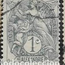 Sellos: ALEJANDRÍA FRANCESA YVERT 19. Lote 279434988