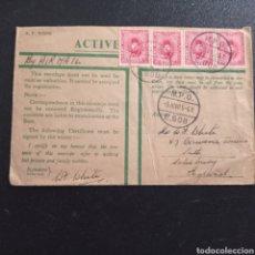 Selos: GUERRA MUNDIAL GRAN BRETAÑA EGIPTO FIELD POST 1940. Lote 280329663