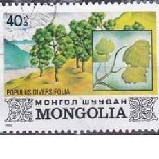 Sellos: LOTE DE SELLOS DE MONGOLIA - FLORA - ARBOLES - (ENVIO COMBINADO COMPRA MAS). Lote 287739228