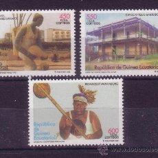 Sellos: GUINEA ECUATORIAL EDIFIL 357/59*** - AÑO 2005 - ARTISTAS Y ESCRITORES POR LA PAZ. Lote 24304371