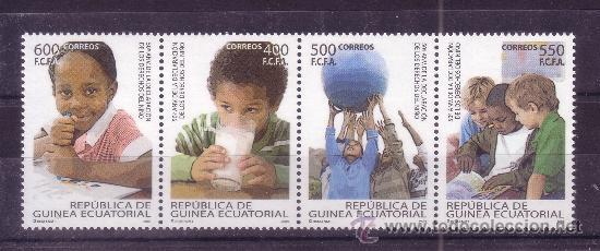 GUINEA ECUATORIAL 414/17*** - AÑO 2009 - 50º ANIVERSARIO DE LA DECLARACION DE LOS DERECHOS DEL NIÑO (Sellos - Extranjero - África - Guinea Ecuatorial)