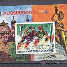 Sellos: REPUBLICA DE GUINEA ECUATORIAL-OLIMPIADAS. Lote 24458642