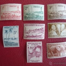 Sellos: SELLOS DE REPUBLIQUE DE GUINEE 1959. Lote 47572448