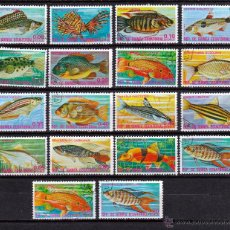 Sellos: REPUBLICA DE GUINEA ECUATORIAL .1974. PECES. *.MH. Lote 108284196