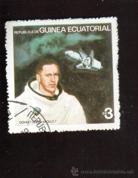 BONITO SELLO DE GUINEA ECUATORIAL EL DE LA FOTO QUE NO TE FALTE EN TU COLECCION (Sellos - Extranjero - África - Guinea Ecuatorial)