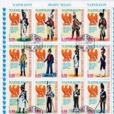 Sellos: GUINEA ECUATORIAL.UNIFORMES MILITARES .1974 *.MH(16-362). Lote 242161700