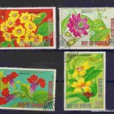 Sellos: FLORES DE GUINEA ECUATORIAL.SELLOS AÑO 1976. Lote 210972380