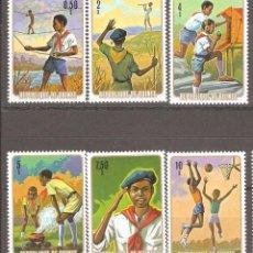 Sellos: GUINEA, REPUBLICA, 1974. Lote 86165280