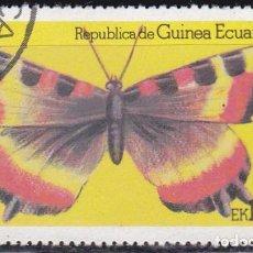 Sellos: 1979 - GUINEA ECUATORIAL - MARIPOSAS - AGLAIS MILBERTI. Lote 98016327
