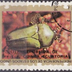 Sellos: 1976 - GUINEA ECUATORIAL - II CENTENARIO DE LA INDEPENDICIA DE USA - 2ª SERIE - ESCARABAJO. Lote 98397131