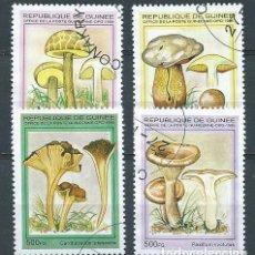 Sellos: REPÚBLICA DE GUINEA,1995,SETAS,YVERT 1065,USADOS. Lote 98732122