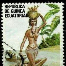 Sellos: GUINEA ECUATORIAL 1988 MI 1694 DIA DEL TRABAJO (USADO). Lote 109309447