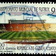 Sellos: GUINEA ECUATORIAL 1994 MI 1783 ESTADIO (USADO). Lote 109310027