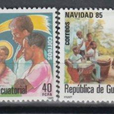 Timbres: GUINEA ECUATORIAL, 1985 EDIFIL Nº 71 / 72 /**/, NAVIDAD. . Lote 147244082