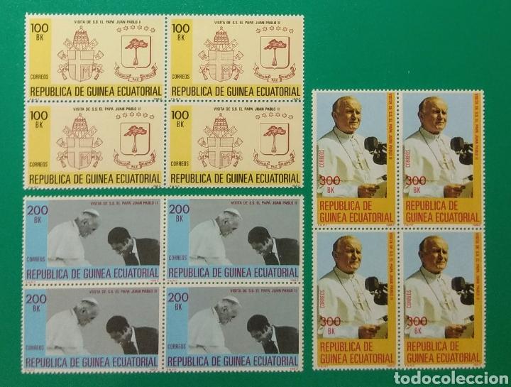 1982. BLOQUE DE 4. GUINEA ECUAT. ED. 32/34**. (Sellos - Extranjero - África - Guinea Ecuatorial)