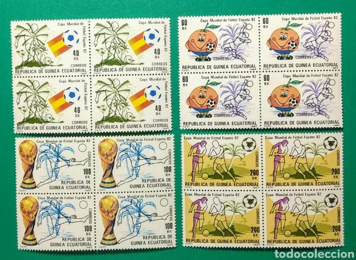 1982. BLOQUE DE 4. GUINEA ECUAT. ED. 35/38**. (Sellos - Extranjero - África - Guinea Ecuatorial)