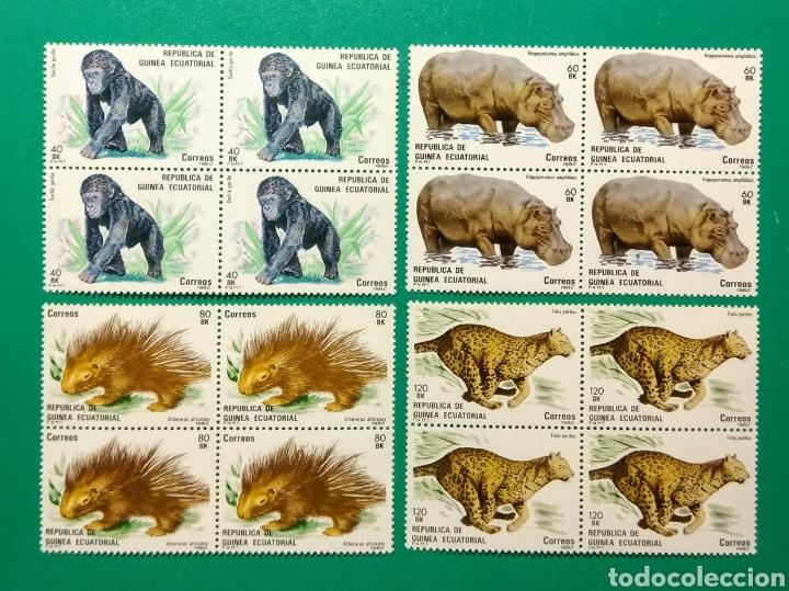 1983. BLOQUE DE 4. GUINEA ECUAT. ED. 39/42**. (Sellos - Extranjero - África - Guinea Ecuatorial)
