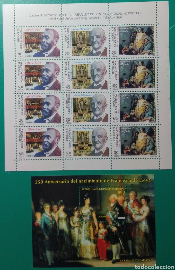 GUINEA ECUATORIAL 1996. MP+4H. ED. 214/217**. (Sellos - Extranjero - África - Guinea Ecuatorial)