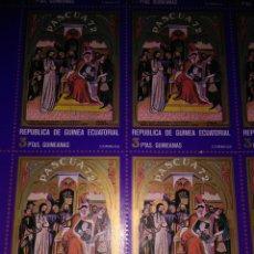 Sellos: 15 SELLOS, 1972, 3PTAS GUINEANAS, PASCUA 72,. Lote 177248090