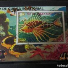Sellos: GUINEA ECUATORIAL 1979 - HOJA BLOQUE USADO. Lote 178746232