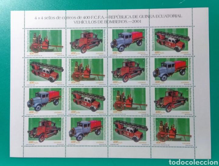 2001. GUINEA ECUATORIAL. 4 SERIES. ED. 280/283**. (Sellos - Extranjero - África - Guinea Ecuatorial)