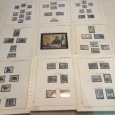 Sellos: COLECCIÓN SELLOS GUINEA ECUATORIAL 1968 A 1993. Lote 183555590
