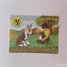 Sellos: GUINEA ECUATORIAL SELLO USADO AÑO DEL NIÑO. Lote 189821208