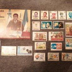 Sellos: SELLOS GUINEA ECUATORIAL AÑOS 1981 Y 1982 NUEVOS. Lote 202376551