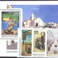 Francobolli: GUINEA ECUATORIAL, 2005 EDIFIL Nº 353 / 356 /**/, CENTENARIO DEL NACIMIENTO SALVADOR DALÍ. Lote 216475681