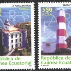 Francobolli: GUINEA ECUATORIAL, 2004 EDIFIL Nº 318 / 321 /**/, FAROS . Lote 197682151
