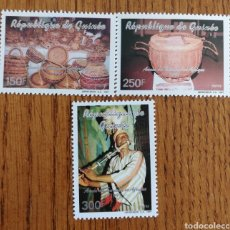 Sellos: GUINEA, TEMA MÚSICA, INSTRUMENTOS AÑO 1991, MNH (FOTOGRAFÍA REAL). Lote 199482467