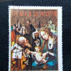 Sellos: GUINEA ECUATORIAL, 8 PTAS, ARTE Y RELIGION, NAVIDAD, AÑO 1973. NUEVO.. Lote 203630050