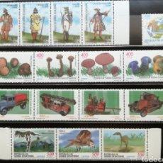 Sellos: GUINEA ECUATORIAL AÑOS 2001 Y 2002 COMPLETOS - NUEVOS SIN CHARNELA + HB. Lote 205296811