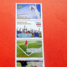 Sellos: GUINEA ECUATORIAL - 2009 - EDIFIL 422/25 /**/ - FUTBOL - COPA DE ÁFRICA DE NACIONES FEMENINA. Lote 227867427