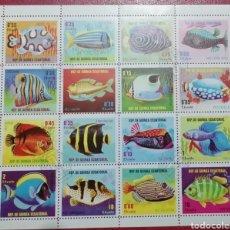 Francobolli: GUINEA ECUATORIAL 1979 PECES FAUNA MICHEL 1509/1524. Lote 233503685