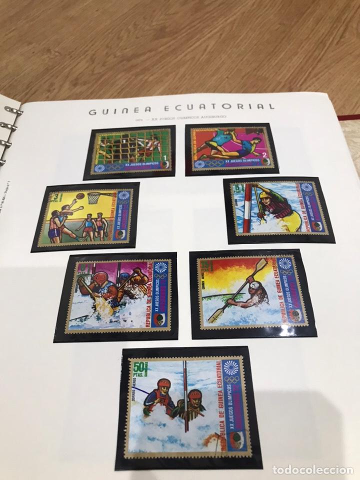 Sellos: ALBUM GUINEA ECUATORIAL - Foto 13 - 235386900