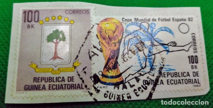 2 SELLOS GUINEA ECUATORIAL 1981 Y 1982 Nº 23 Y 37 (Sellos - Extranjero - África - Guinea Ecuatorial)